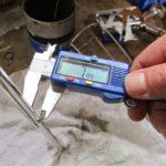 measuring OD of rod
